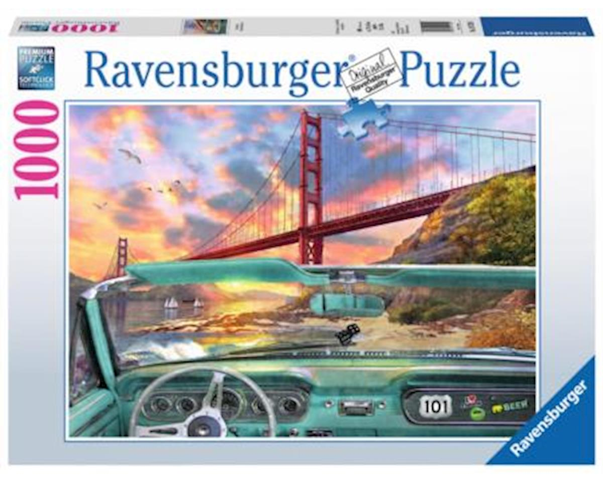 Ravensburger Golden Gate Puzzle (1000 Piece)