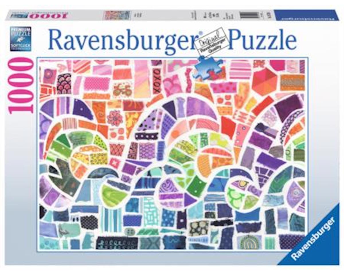 Wave Mosaic Puzzle (1000 Piece)