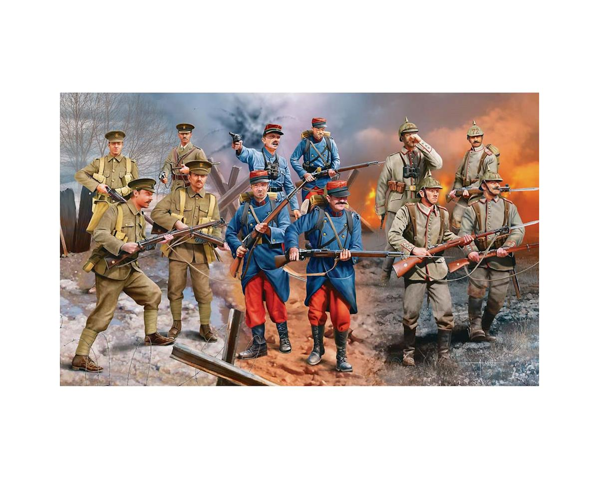 Revell Germany 1/35 Set Wwi German/British/French Infantry