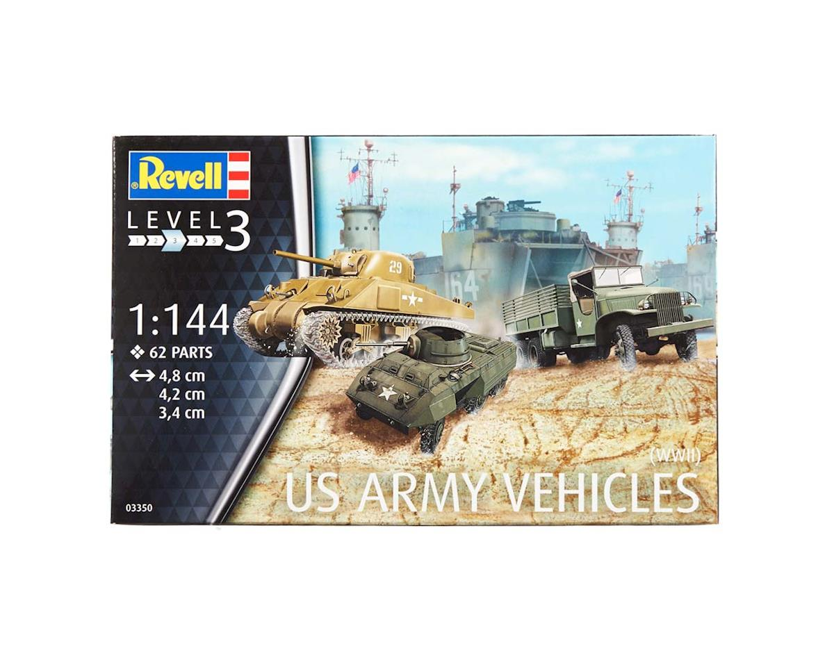 Revell Germany 1/144 Us Army Vehichles Wwii