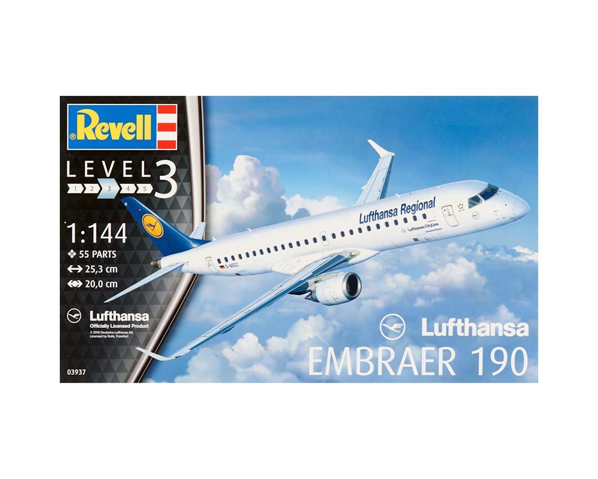 Revell Germany 03937 1/144 Embraer 190 Lufthansa