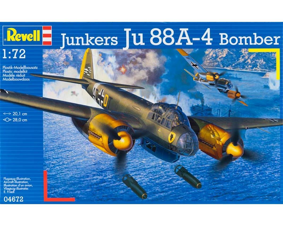 Revell Germany 04672 1/72 Junkers Ju88 A-4 Bomber