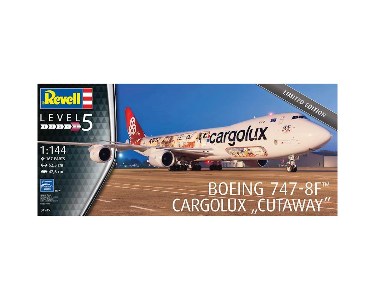 Revell Germany 04949 1/144 Boeing 747-8F Cargolux Cutaway Ltd. Ed.