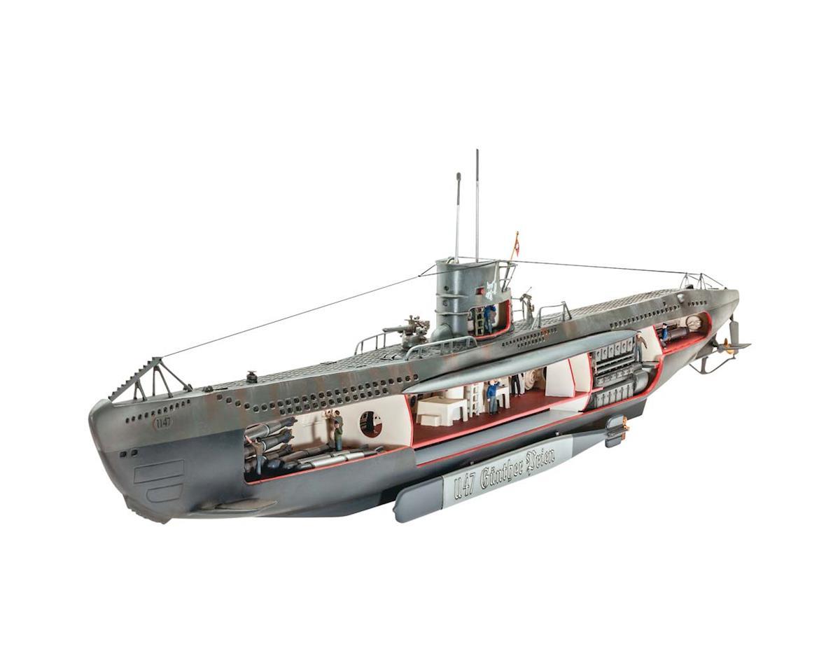 1/125 German Submarine U-47 W/Interior by Revell Germany
