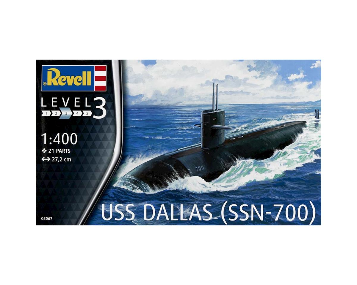 Revell Germany 1/400 Us Navy Submarine Uss Dallas