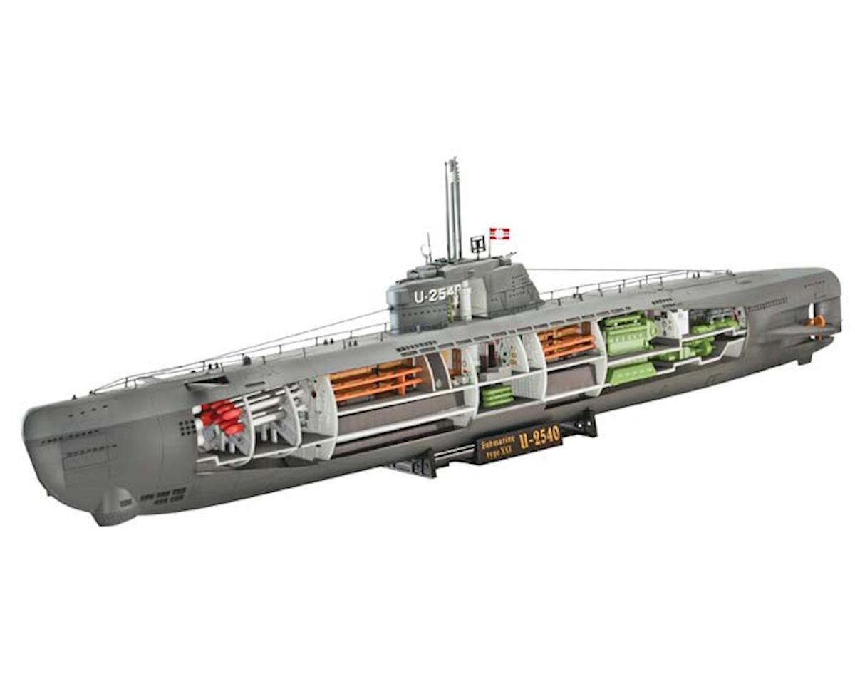 Revell Germany 05078 1/144 U-Boat Type XXI w/Interior