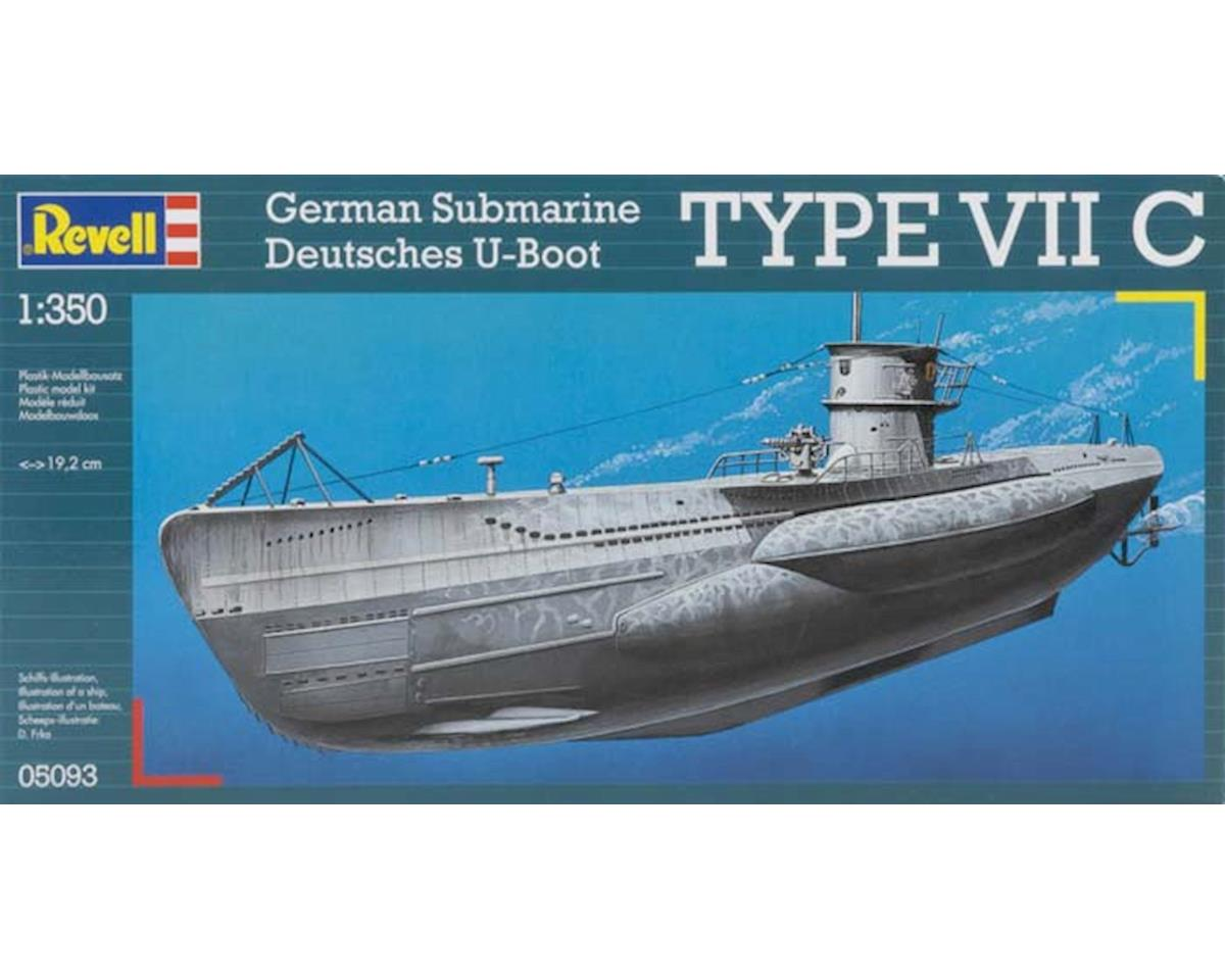 Revell Germany  1/350 U-Boat Type Viic German Submarine