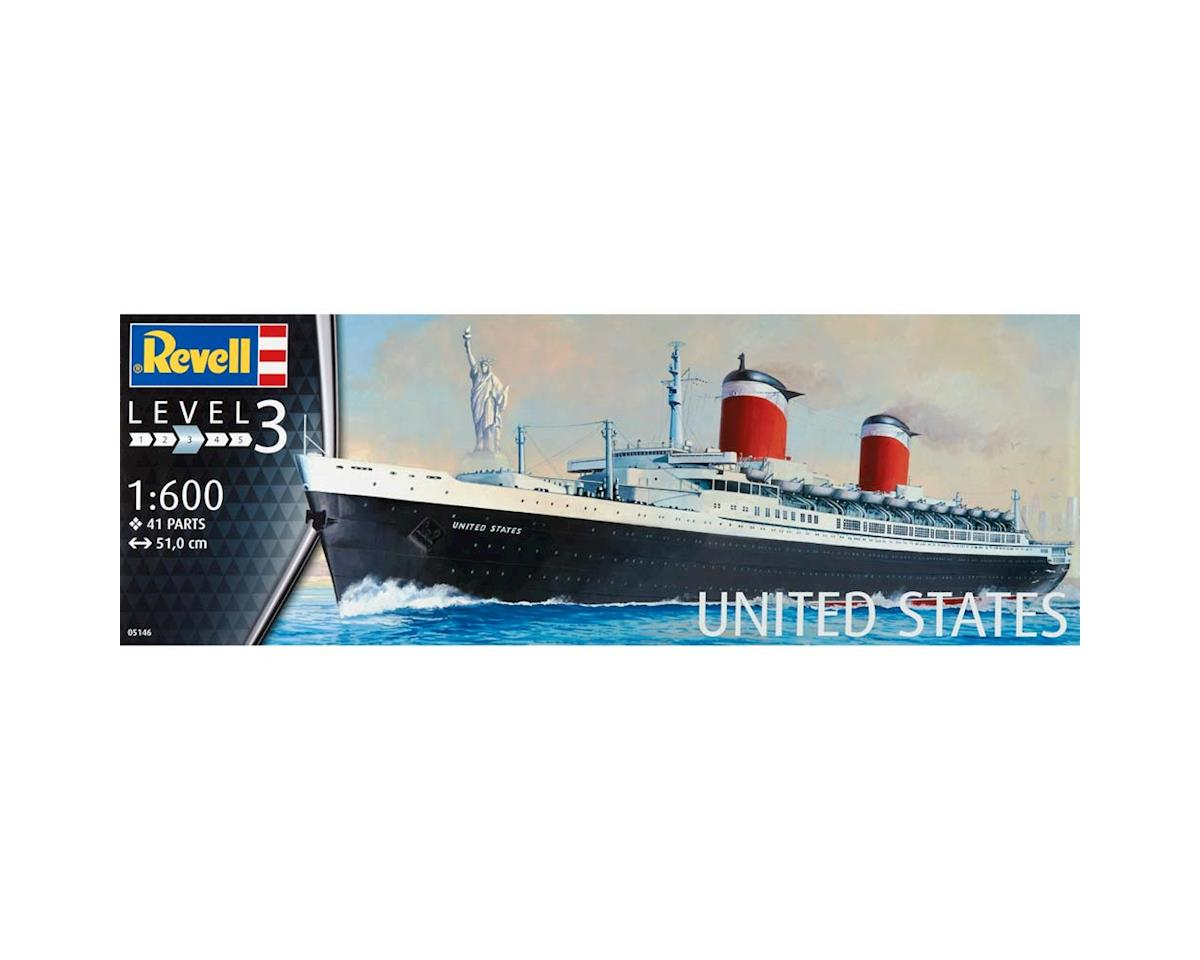 1/600 Ss United States by Revell Germany