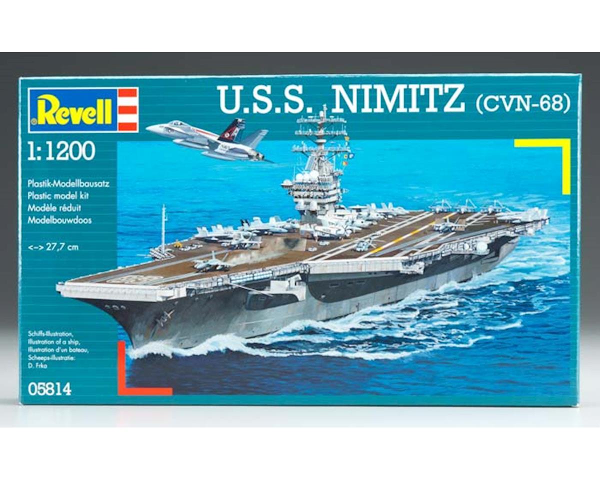 Revell Germany 05814 1/1200 USS Nimitz CVN-68