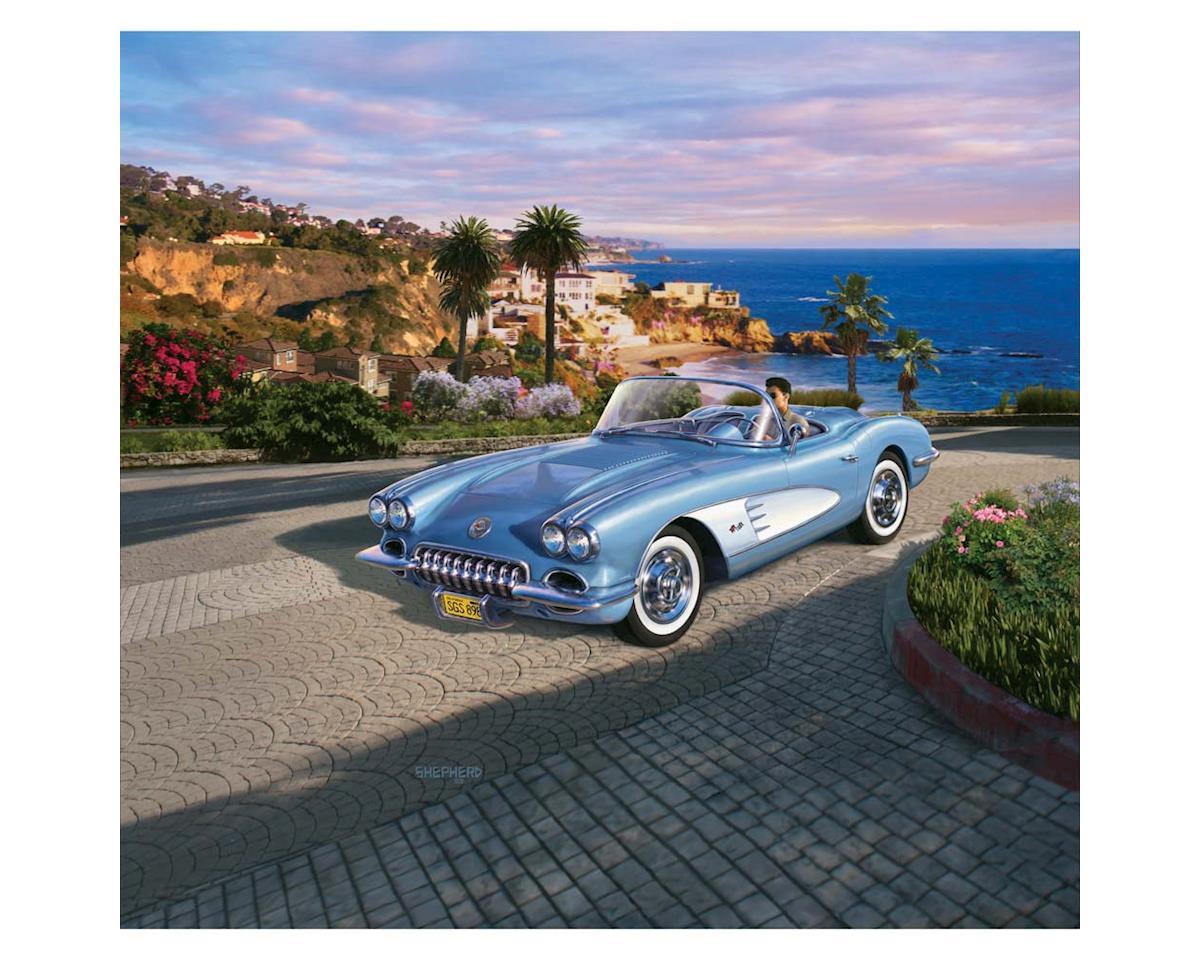 Revell Germany 07037 1/25 1958 Corvette Roadster