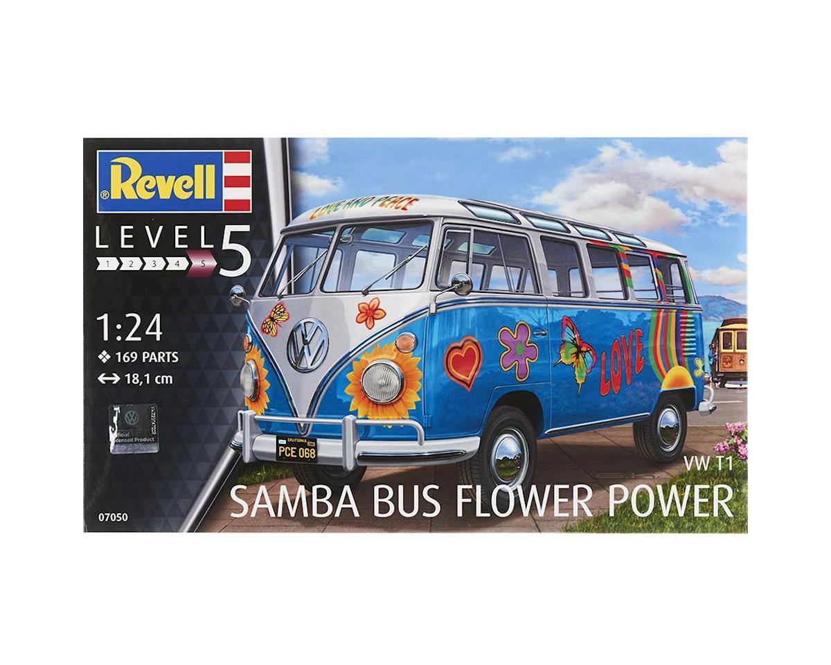 Revell Germany 07050 1/24 VW T1 Samba Bus Flower Power