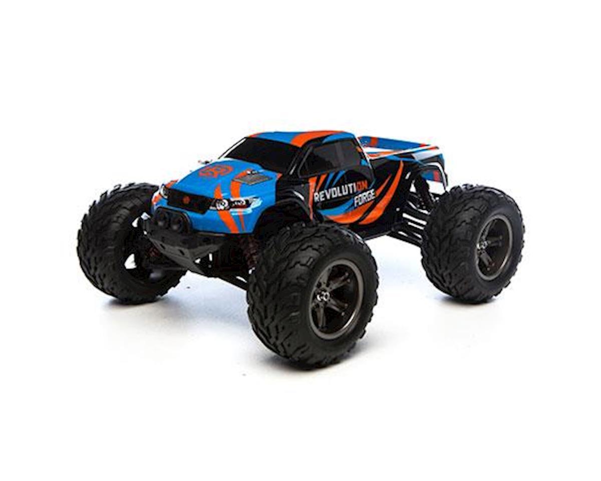 Revolution 1/12 Force 2wd Monster Truck RTR (Blue/Orange)