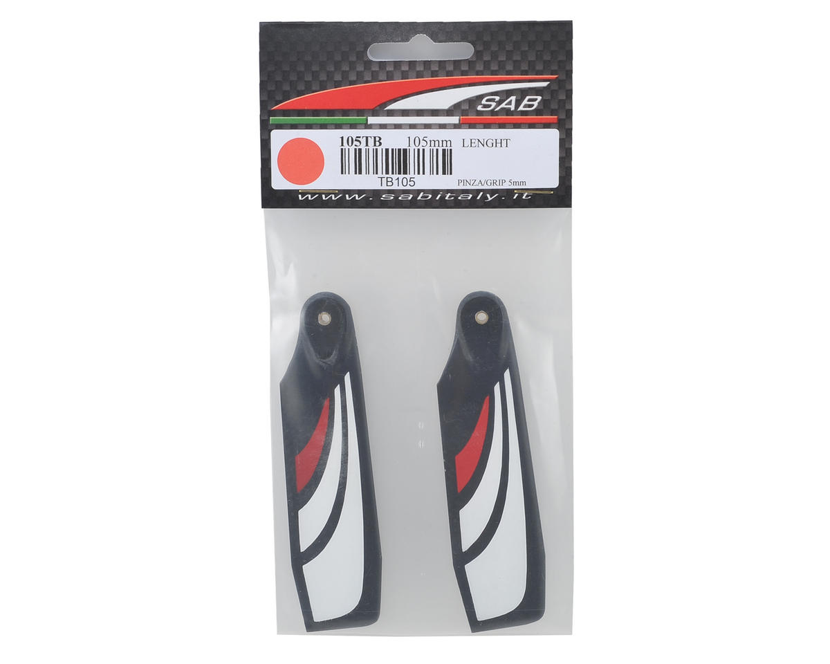 SAB 105mm Thunderbolt Carbon Fiber Tail Blade Set