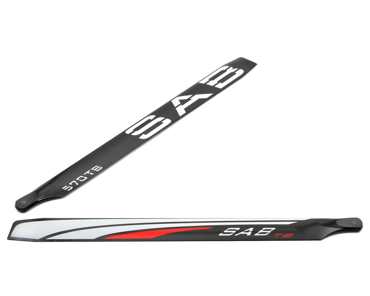 SAB Goblin 570mm Thunderbolt Carbon Fiber Main Blade Set