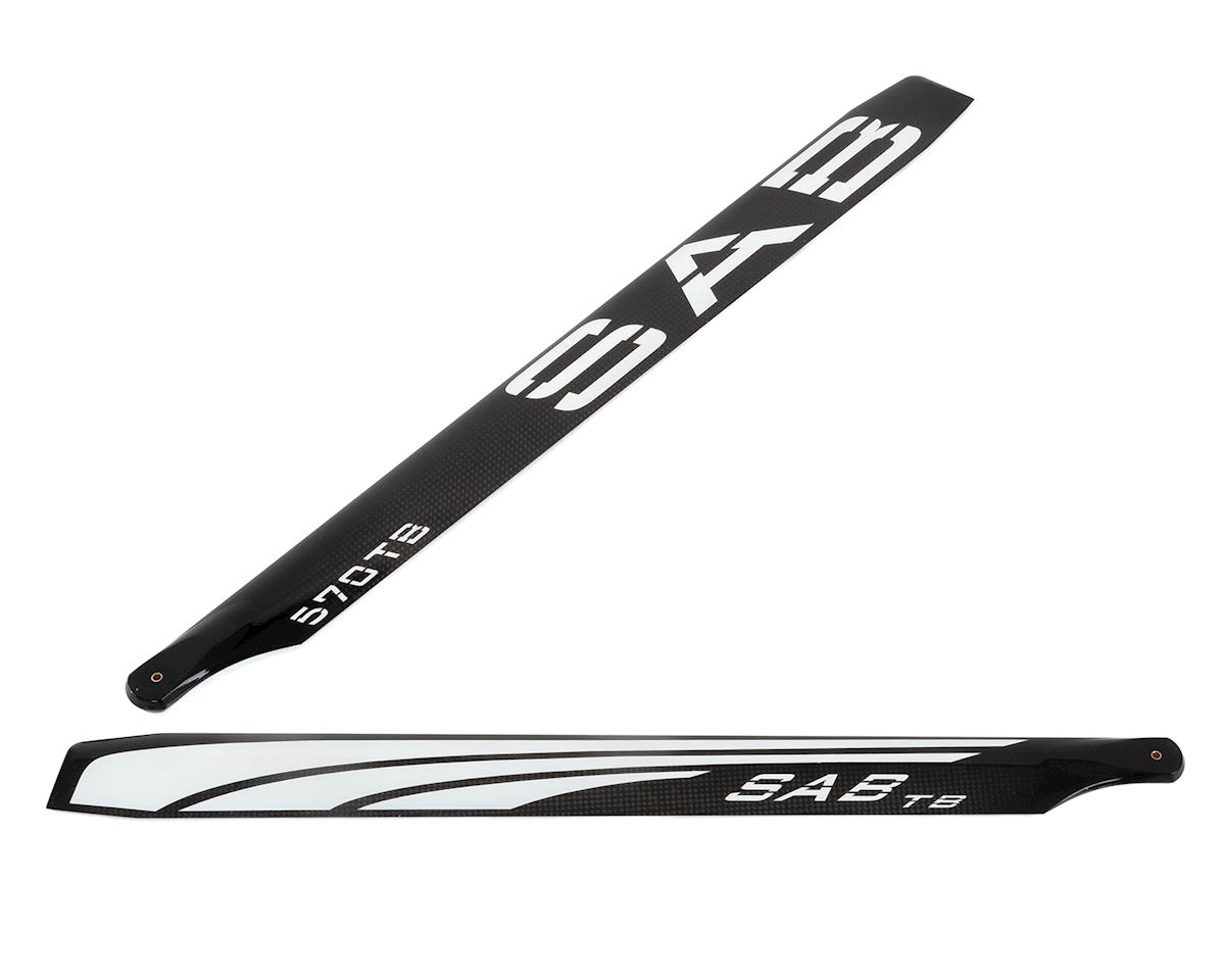 SAB Goblin 570mm Thunderbolt TBS Carbon Fiber Main Blade Set