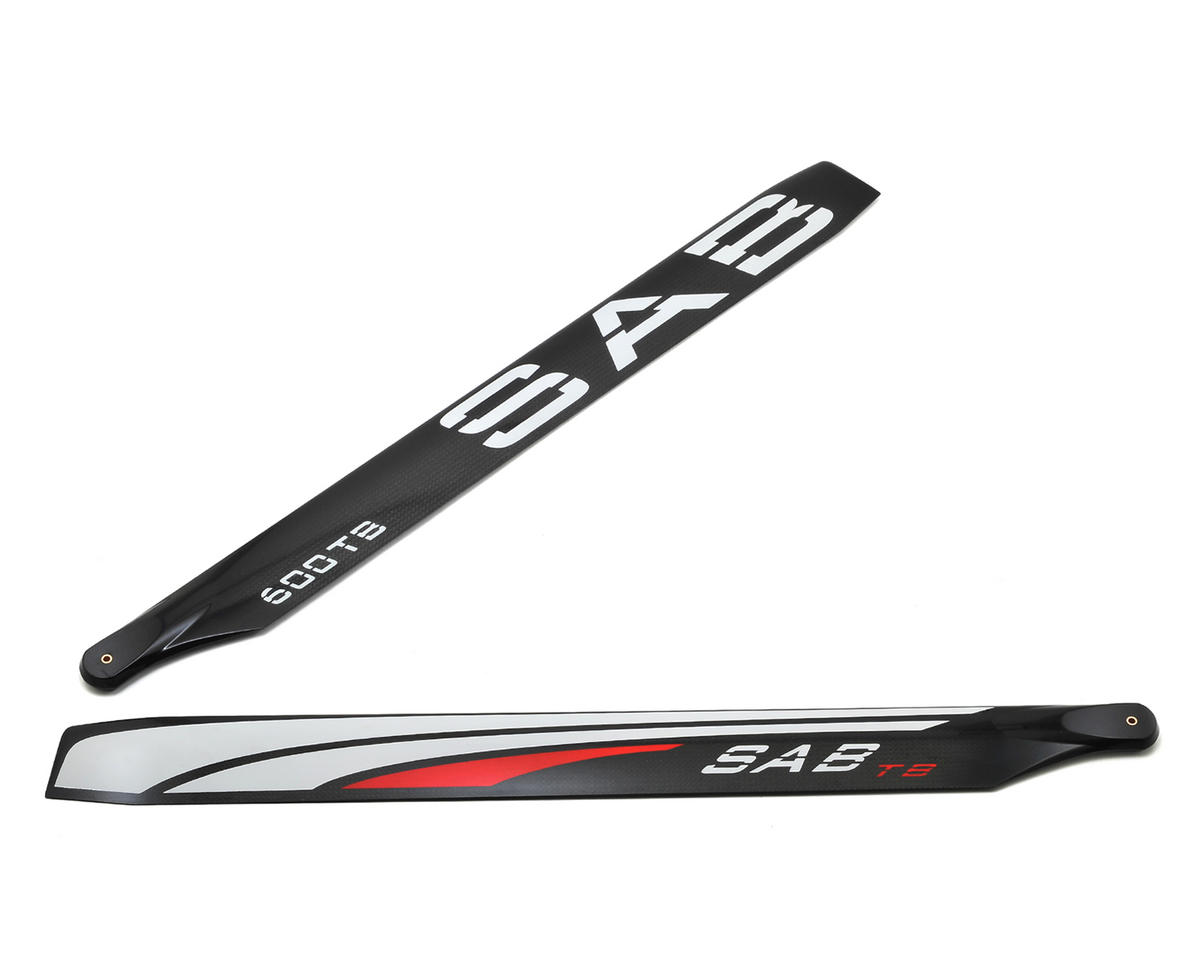 SAB 600mm Thunderbolt Carbon Fiber Main Blade Set
