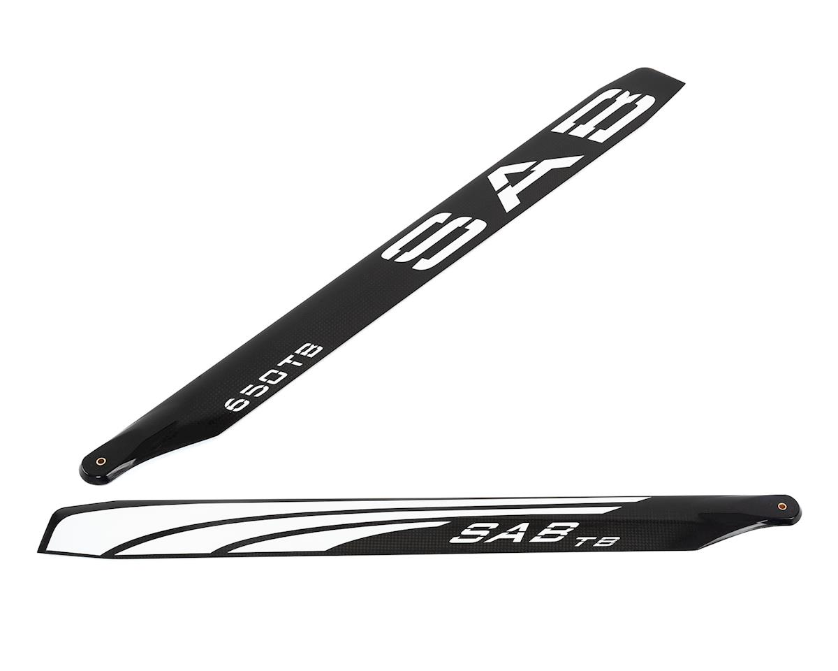 SAB Goblin 650mm Thunderbolt TBS Carbon Fiber Main Blade Set