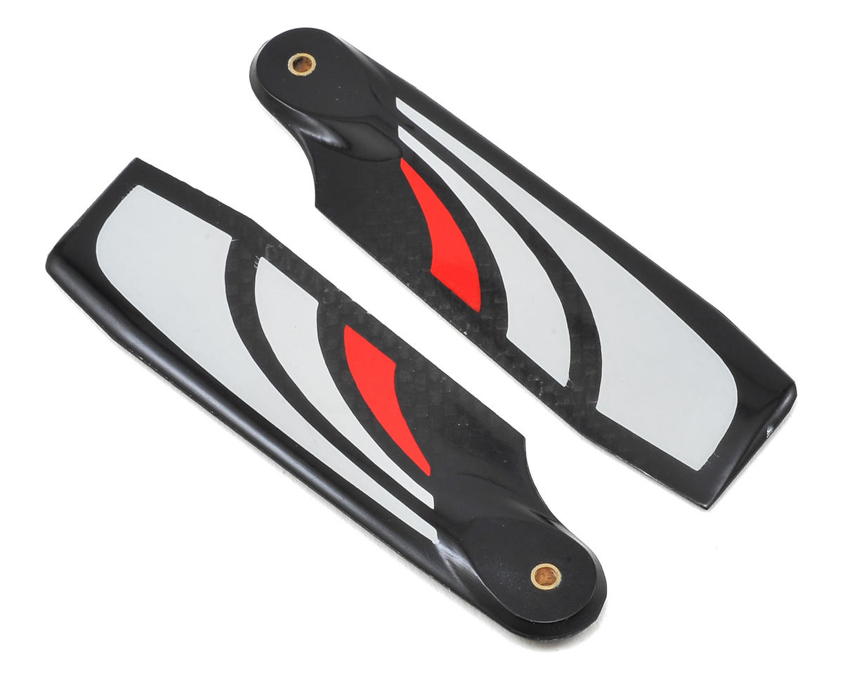 SAB Goblin 95mm Thunderbolt Carbon Fiber Tail Blade Set