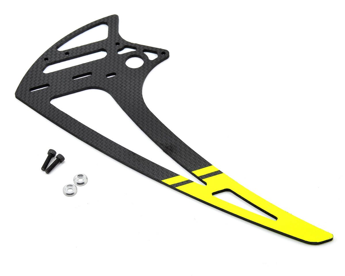 SAB Goblin 630 Carbon Fiber Vertical Fin (Yellow)