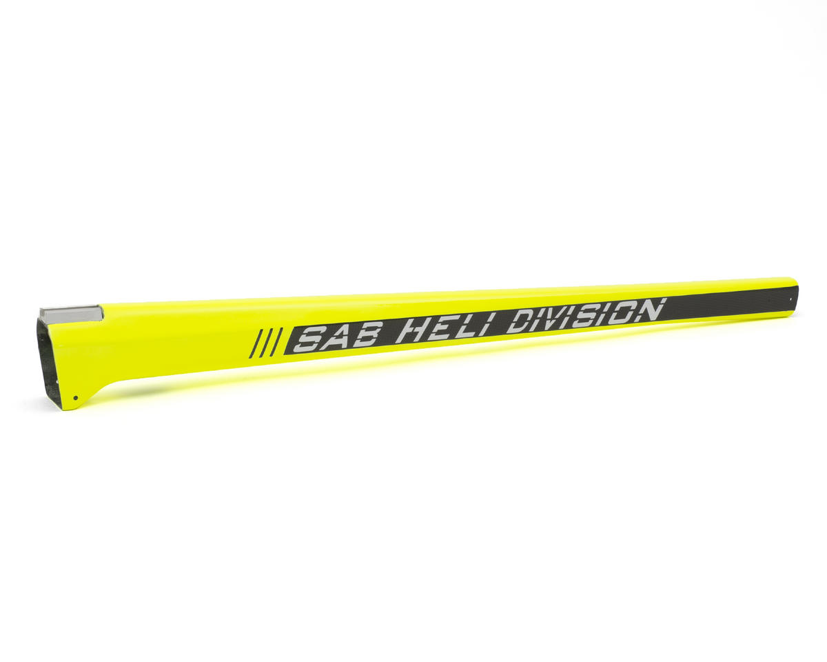 SAB Carbon Fiber Tail Boom (Yellow) (Type III)