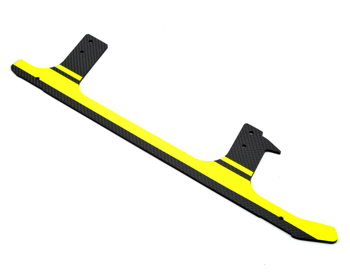 Low Profile Carbon Fiber Landing Gear (Yellow) (1) by SAB Goblin 700