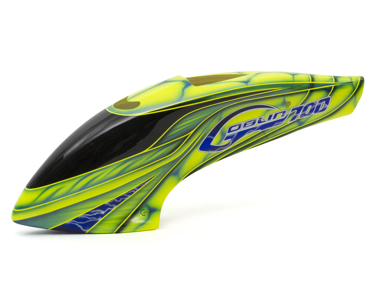 SAB Goblin 700 Canomod Fast Arrow Airbrush Canopy