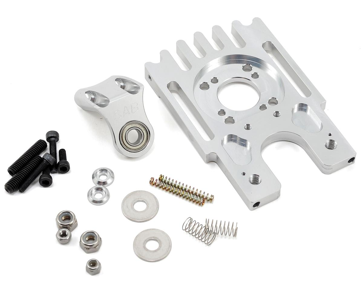 Aluminum Motor Mount w/Third Bearing Support by SAB