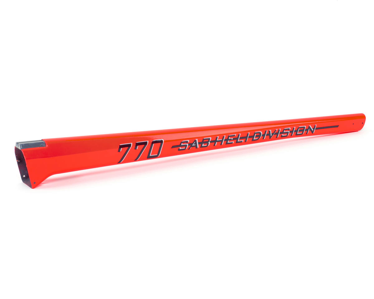 SAB Carbon Fiber Tail Boom (Red)
