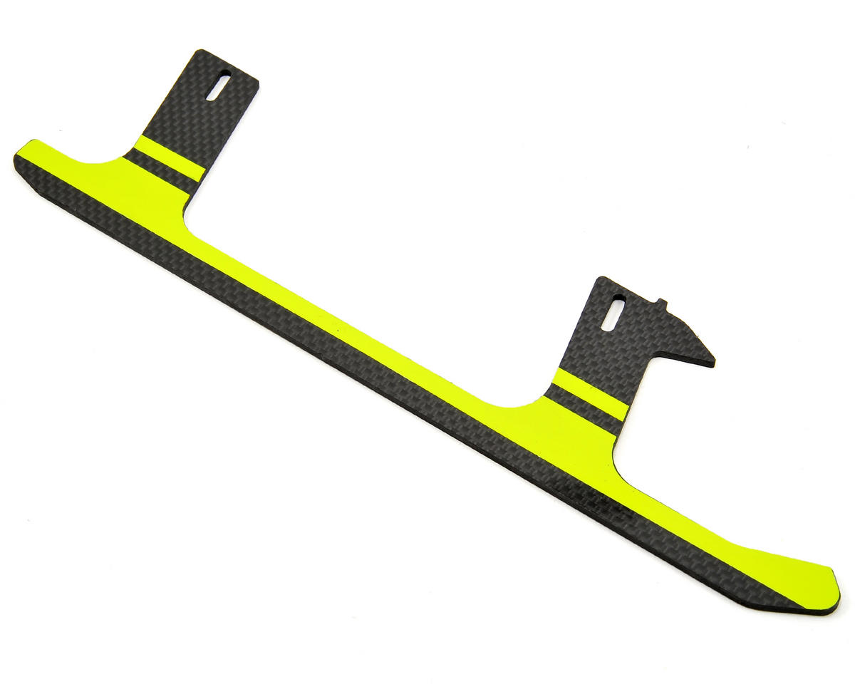 SAB Goblin 500 Carbon Fiber Landing Gear (Yellow) (1)