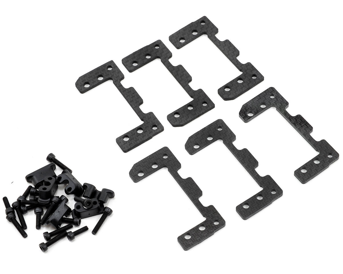 SAB Goblin 500 Carbon Fiber Servo Support Set