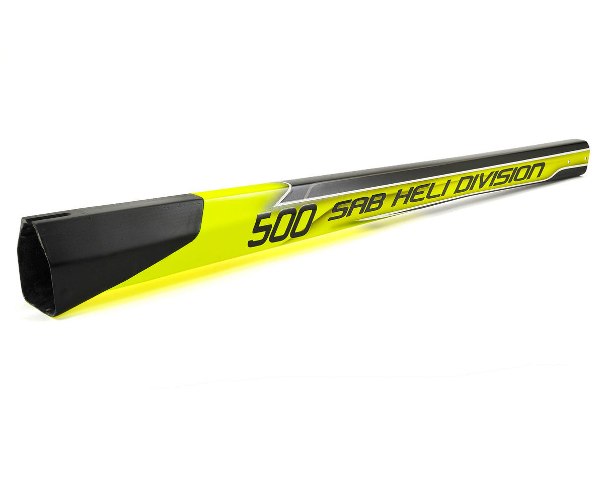 SAB Goblin 500 Carbon Fiber Tail Boom (Yellow/Black)