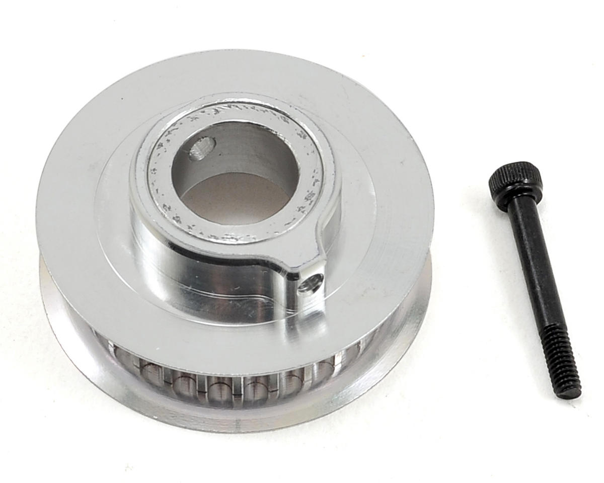 Aluminum Front Tail Pulley (28T) by SAB Goblin