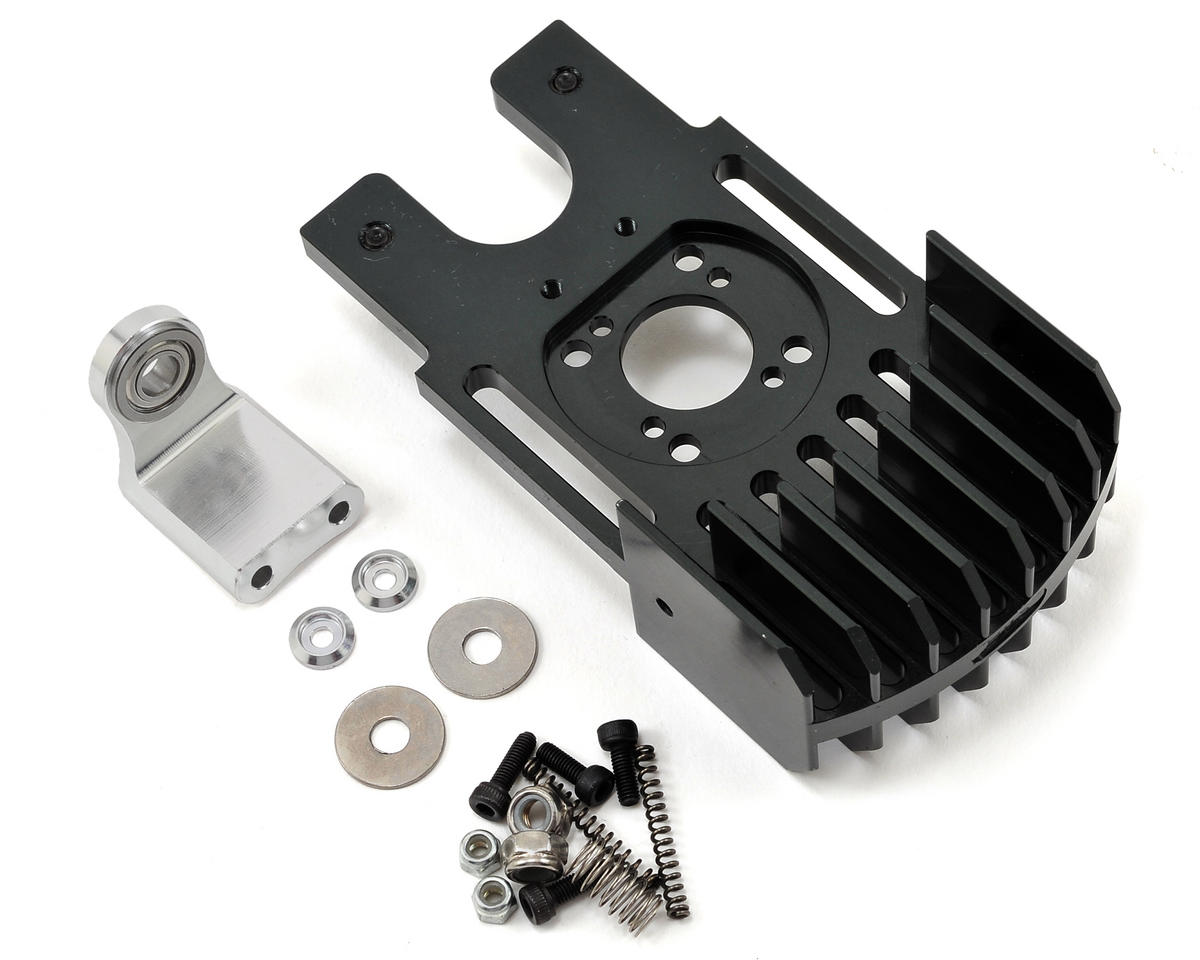 Aluminum Cooling Motor Mount w/Third Bearing