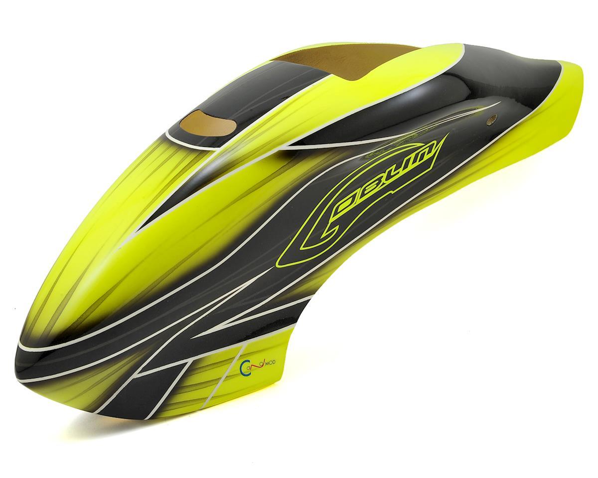 SAB Goblin 500 Canopy - Full Size Servos (Yellow/Black)