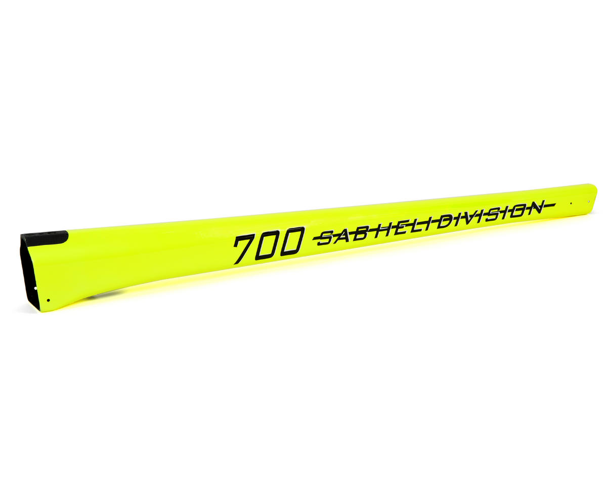 SAB Goblin 700 Competition Carbon Fiber Tail Boom (Yellow)
