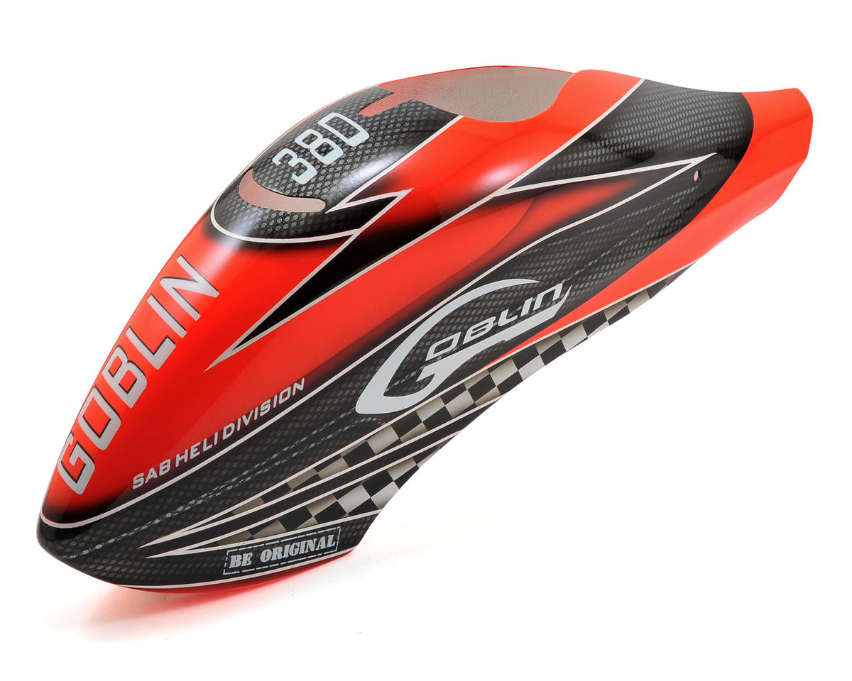 Goblin 380 Canopy (Red/Black)