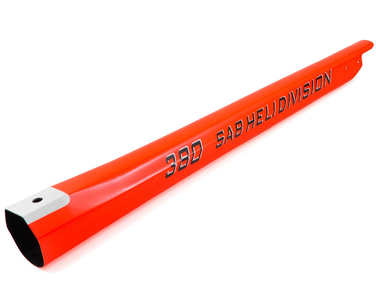 SAB Goblin 380 Tail Boom (Red)