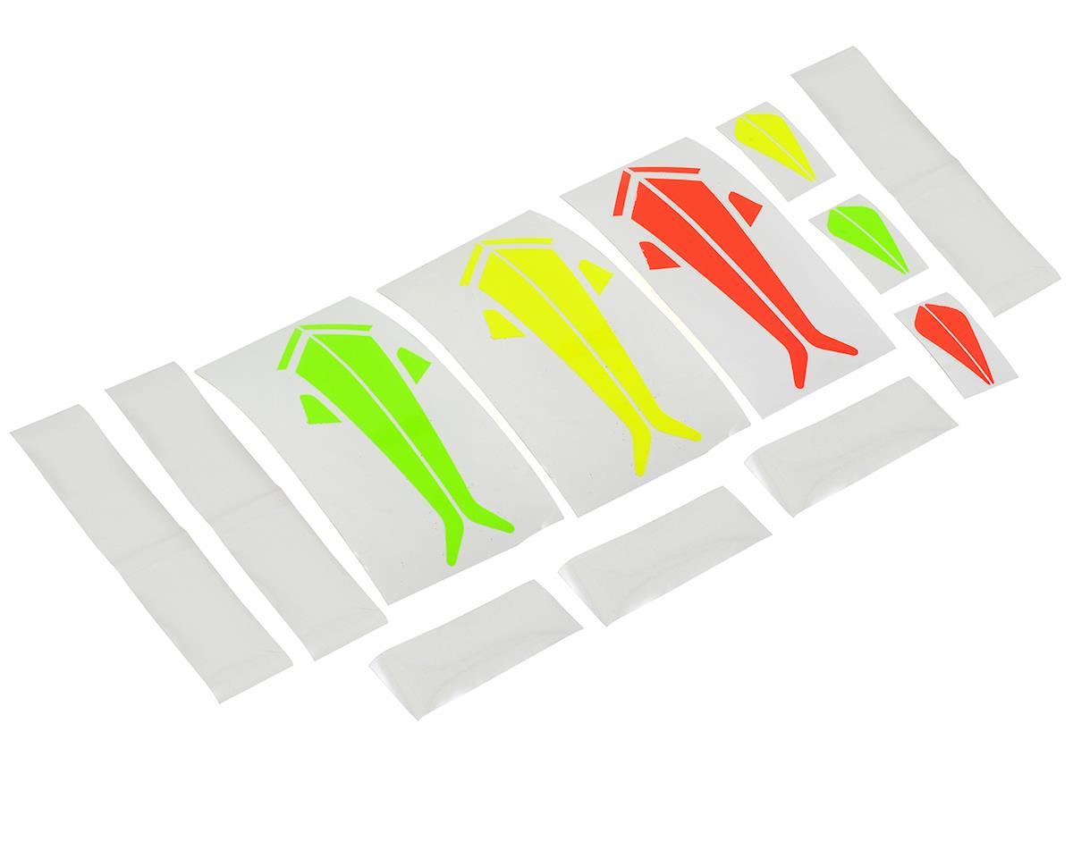 SAB Tail Fin & Landing Gear Sticker Set (Yellow & Red)