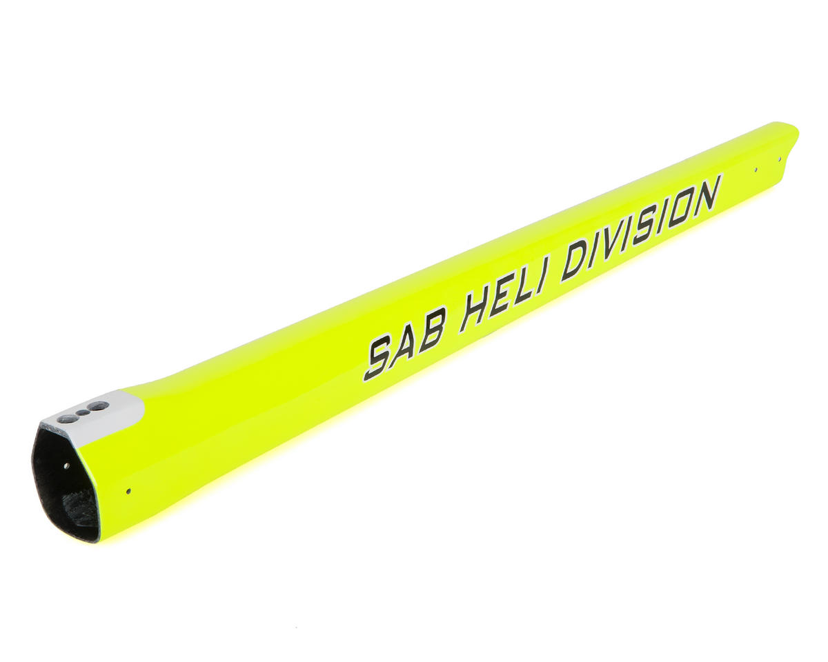 Carbon Fiber Tail Boom (500 Sport/Yellow) by SAB Goblin