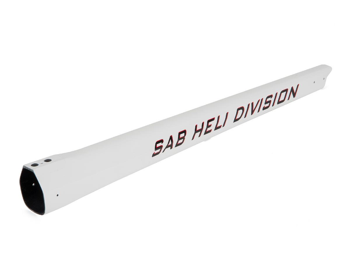 SAB Goblin 500 Carbon Fiber Tail Boom (500 Sport/White)