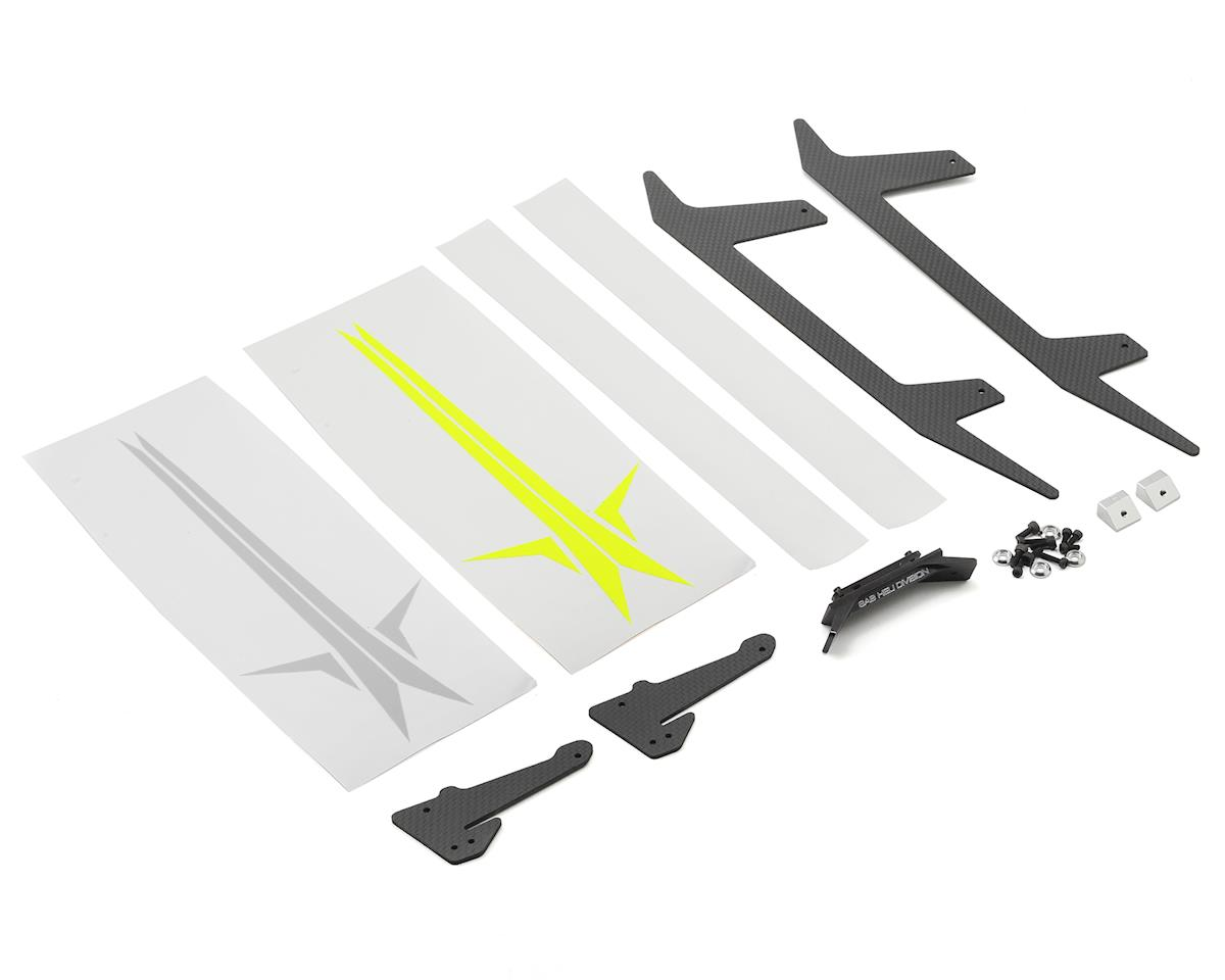 Carbon Fiber Landing Gear Set (500 Sport) by SAB Goblin