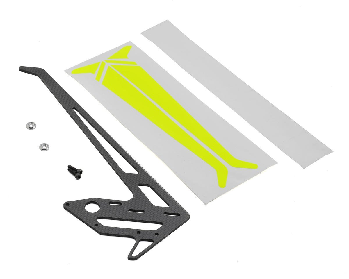 SAB Goblin Carbon Fiber Vertical Fin (Yellow)