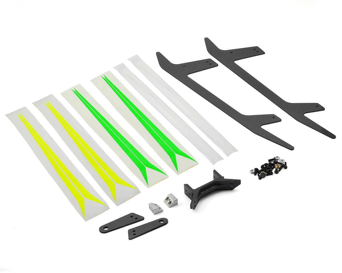 Carbon Fiber Landing Gear Set (Black Thunder) by SAB Goblin