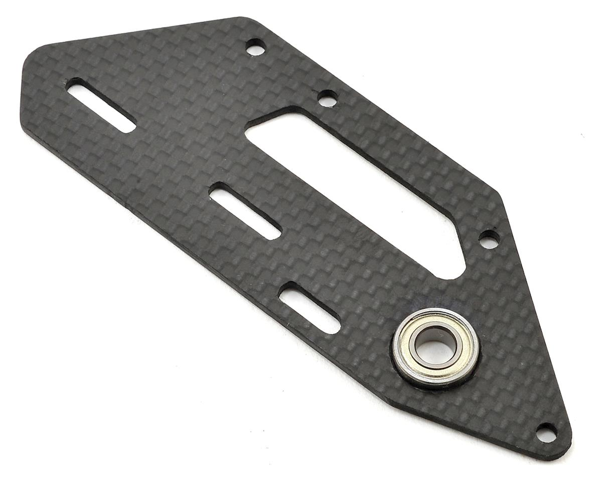 Carbon Fiber Tail Side Plate (Thunder T) by SAB Goblin