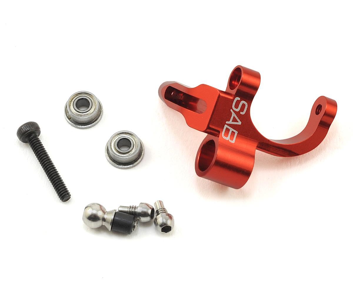 SAB Aluminum Bell Crank Lever (Red)