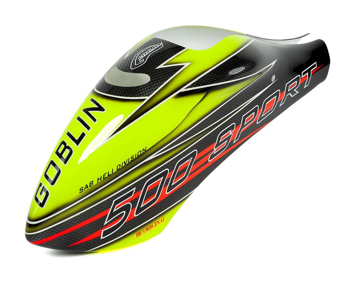 SAB Goblin 500 Canopy (Yelow/Black) (500 Sport)
