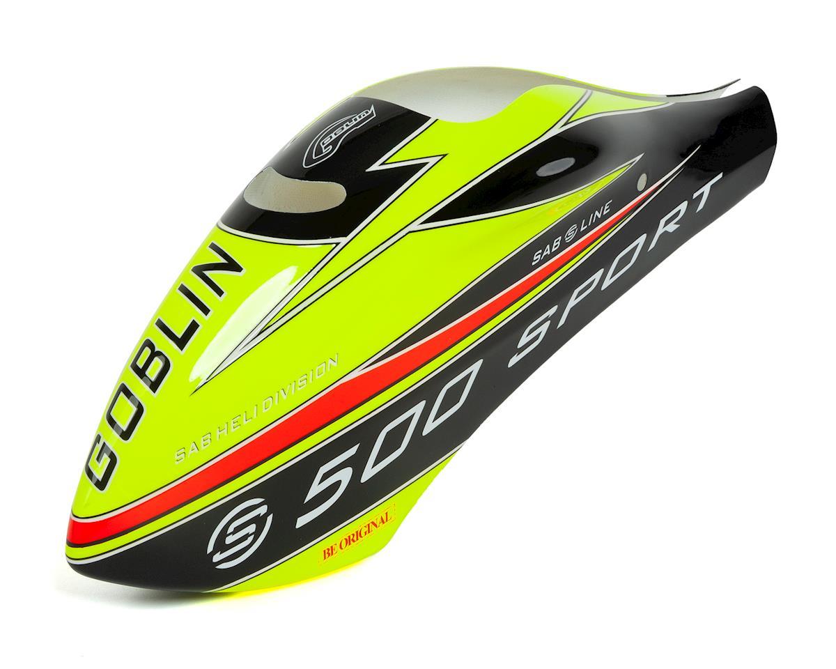 SAB Goblin 500 Canopy (Yellow/Black) (500 Sport 2018)