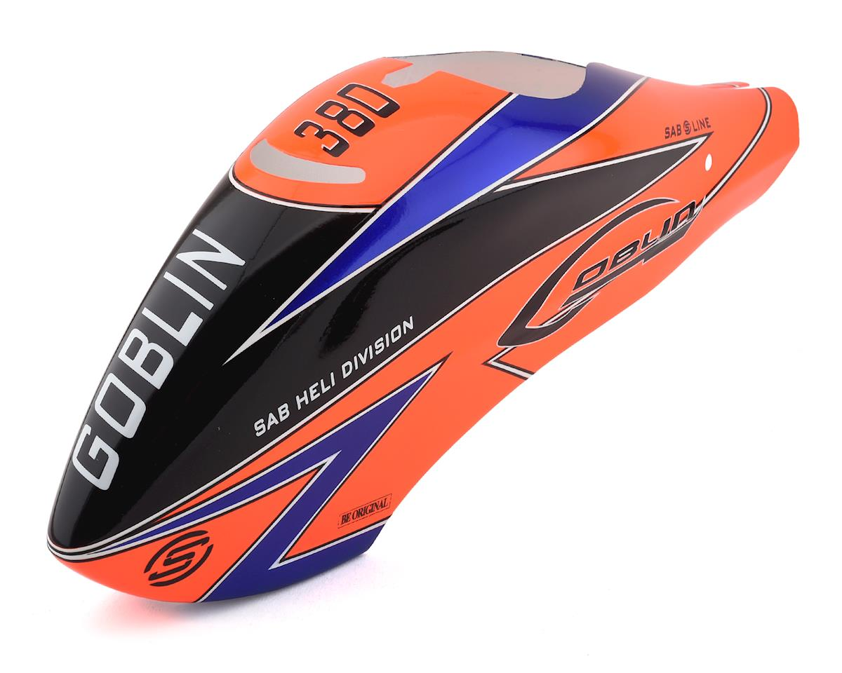 SAB Goblin 380 Canopy (Orange) (380 Sport)