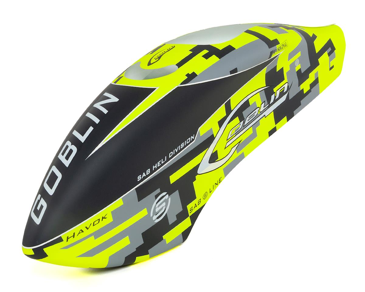 SAB Goblin Black Thunder Havok Edition Canopy (Thunder Sport 700)