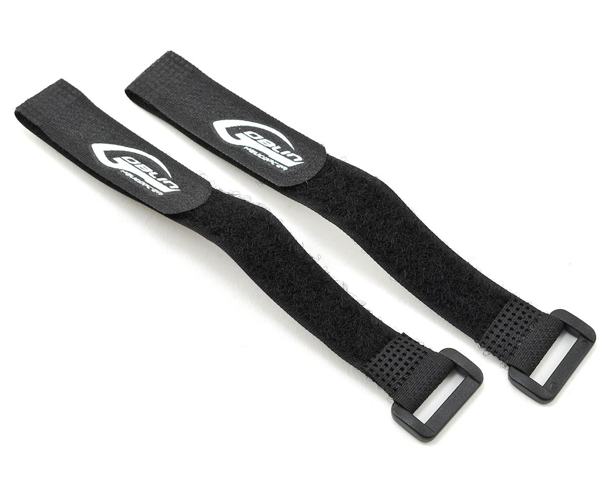 16x185mm Goblin Black Nitro RX Battery Strap (2) by SAB Goblin